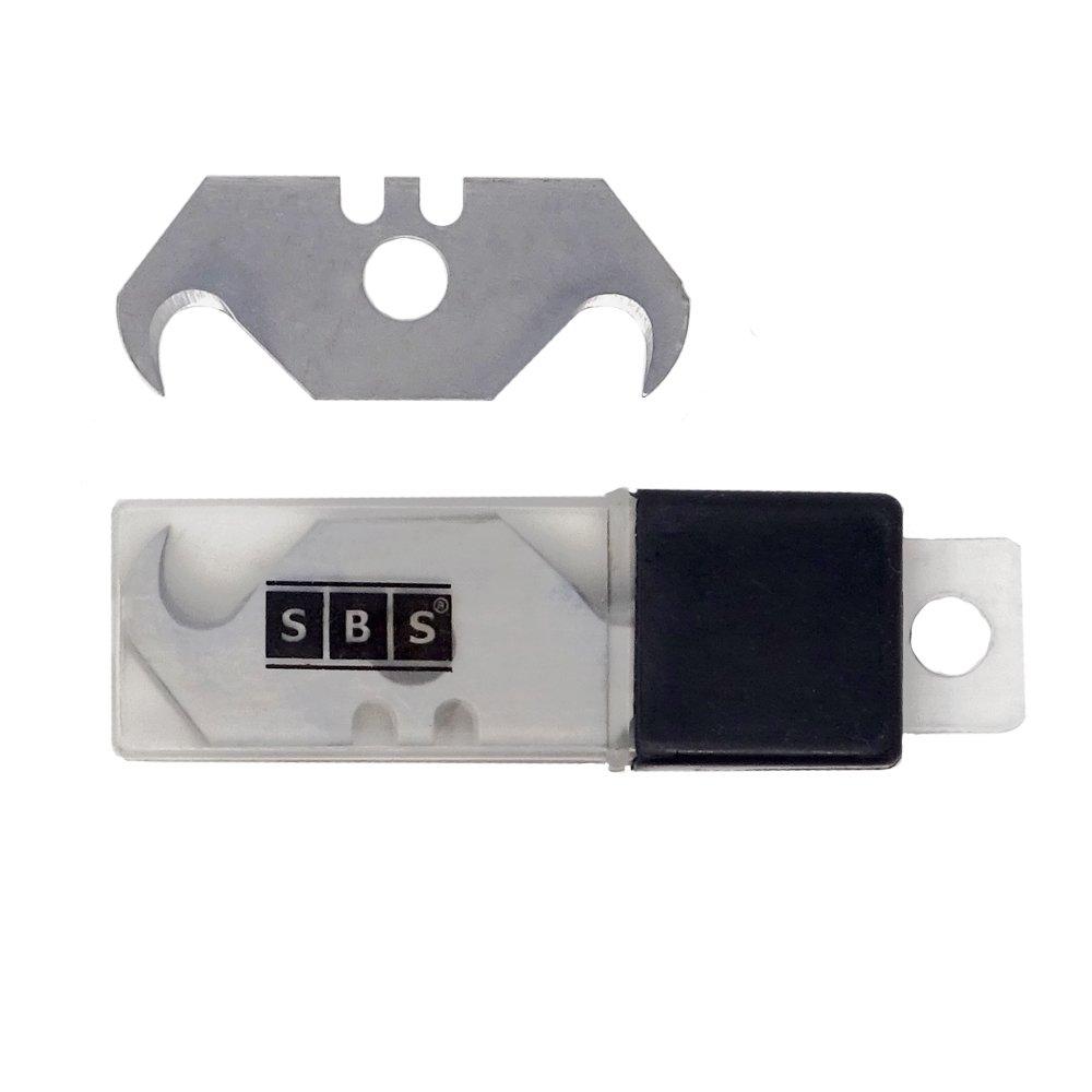 SBS garfios trapezoidales para cú ter Cuchillas de recambio con agujeros garfios –  50 Unidades Schlößer Baustoffe GbR