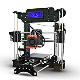 Elepwal 3D Printer, XY100 Desktop High Precision 3D Printer Kit DIY Self Assembly i3 Acrylic Frame with LCD Display Supported ABS/ PLA/ TPU/ Wood/ HIPS/ PVA/ Nylon Filament for Beginners