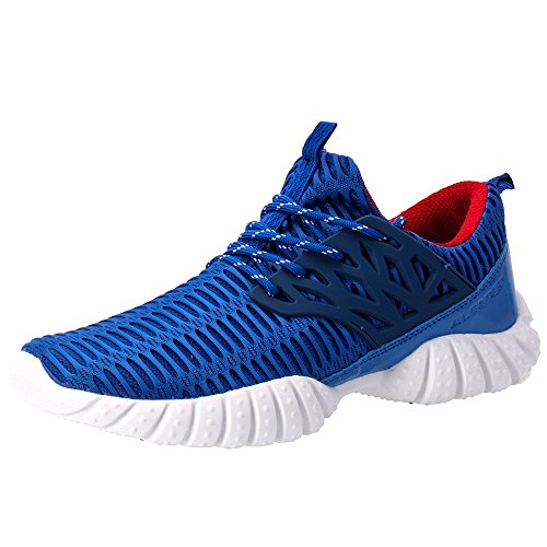 Aleader Men's Training Shoes Fashion Walking Sneakers Blue 9