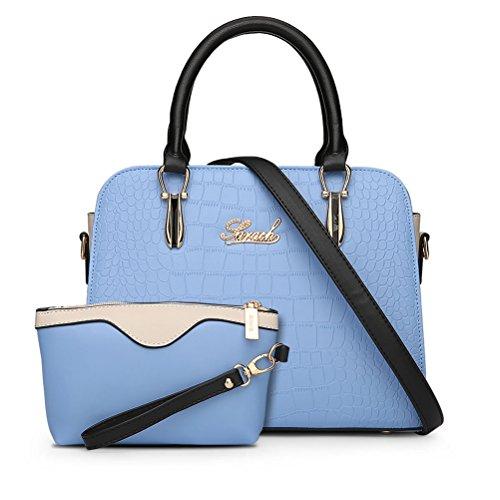 La Nago - bolso mujer azul (Sky Blue)