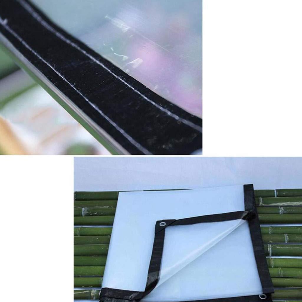 Zeltplanen Transparente Plane Den Regendichtes Tuch Regendichtes Schuppen Tuch Verdicken Plastik Der Den Plane Regen 2X3m Bedeckt - Multi-Größe-Optionen (größe   2X4m) 85b023