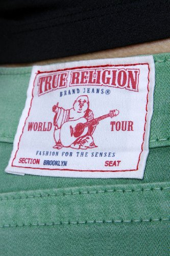 True Religion Vaqueros Skinny 7/8 BROOKLYN CROPPED SPR Verde
