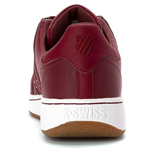 K-Swiss Herren Classic VN Fashion Sneaker Burgund