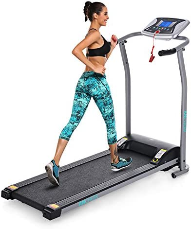 Profun Folding Treadmill Electric Motorized Running Walking Jogging Machine for Home Gym Exercise Fitness