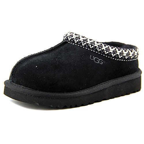UGG Australia Infants' Tasman Slippers,Black,10 Child US by UGG