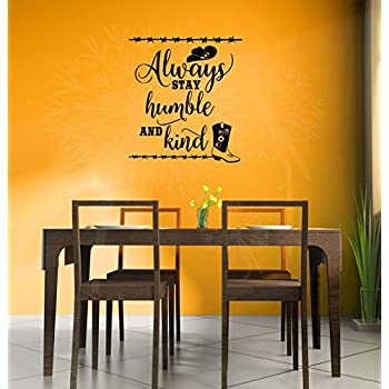 Wall Decor Plus More WDPM4160 Always Stay Humble and Kind Wall ...