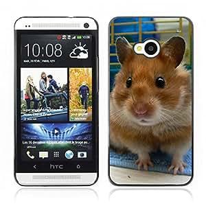 Carcasa Funda Case// Hamster V0000016 //HTC ONE M7