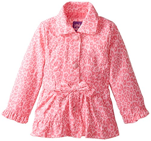 Platinum Little Leopard Pink Tonal Jacket Girls' Pink 8zcaqz