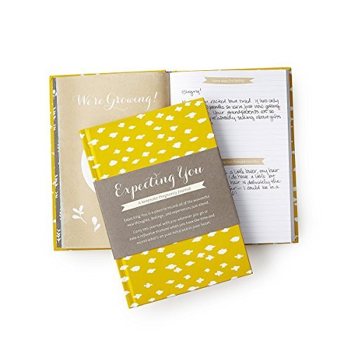 Expecting You - A Keepsake Pregnancy Journal Notebook Diary