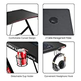 "Mr IRONSTONE Gaming Desk 45.3"" W x 29"" D Home"