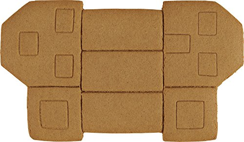 Wilton Build It Yourself Holiday Town Gingerbread House Decorating Kit