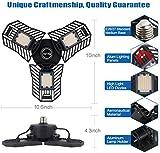 LED Deformable Garage Light Bulbs Tribright Flex