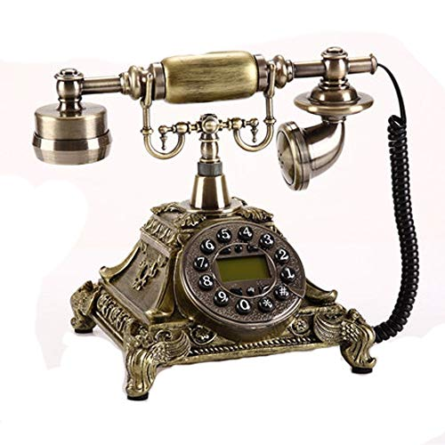 XTSP Old-Fashioned Telephone Retro Home Fashion Creative Wired Telephone landline (Size : 251822cm) from XTSP
