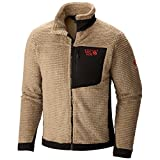 Mountain Hardwear Men's Monkey Man Fleece Jacket, Khaki, Large