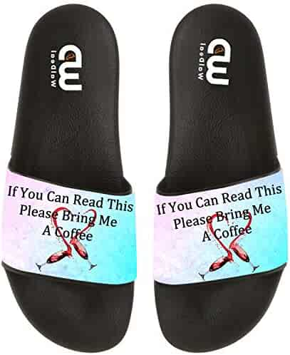 23978f12bf1 If You Can Read This Bring Me A Beer Summer Slide Slippers For Men Women Kid