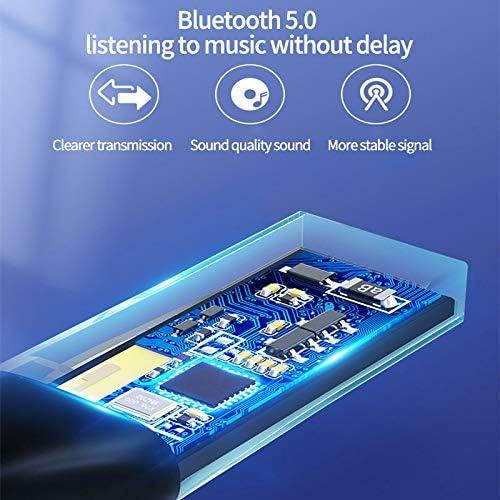 2-In-1-Bluetooth 5.0-Sender Wireless-Audio-Bluetooth-Empf/änger f/ür PC-Laptop-TV-Kopfh/örer Verdelife Bluetooth-Adapter