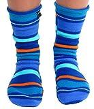 Polar Feet Adults' Non-slip Fleece Socks (L (W10+, M 9-11), Jazz)