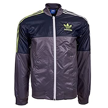 adidas Originals 90s Nylon Chaqueta g90080, Gris, Large ...