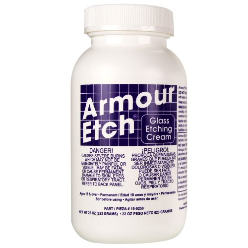 Armour Etch 15-0250 Cream, 22-Ounce