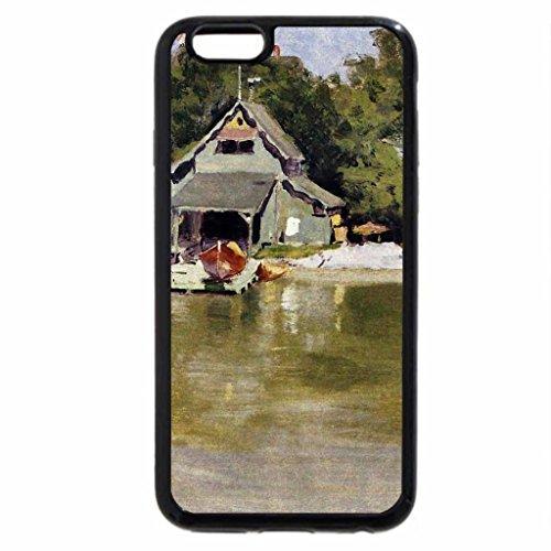 iPhone 6S / iPhone 6 Case (Black) Boat House at Ingleneuk 1