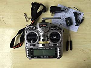 FrSky Taranis X9D plus 16-channel 2.4ghz ACCST Radio Transmitter (mode 2) with X8R Receiver