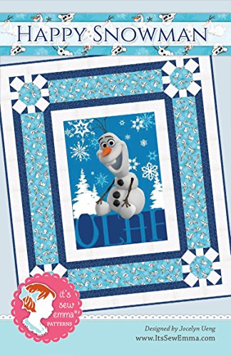 It's Sew Emma Happy Snowman Pattern by It's Sew Emma