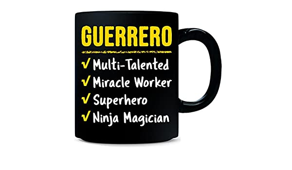 Amazon.com: Guerrero Talented Superhero Ninja Name Pride ...