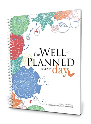 Price comparison product image Well Planned Day, Family Homeschool Planner, July 2018 - June 2019