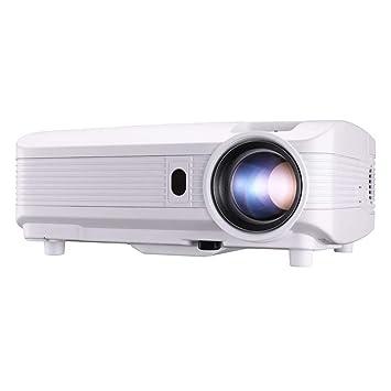 Zichen Proyector de Video Multimedia Proyector HD 4000 lúmenes LED ...