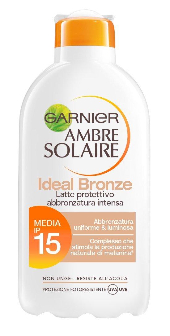Ambre Solaire Ideal Bronze Sun Milk spf 15 Low Protection 200 ml Garnier