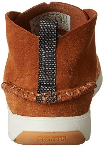 Boxfresh Statley Ch Sde Fox, Zapatillas Altas para Hombre marrón (Braun)