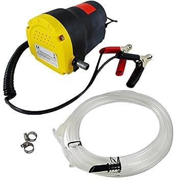 SATKIT Bomba para Sacar Aceite Y Gasolina 12 V 1. 2L para Coche Y Moto: Amazon.es: Coche y moto