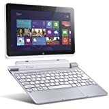 Acer Iconia W510-1438 10.1-inch 32GB Tablet with Keyboard Dock (Silver)