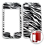Apple iPhone 4 - 4S (AT&T/Verizon/Sprint) Transparent Zebra Print iPhone 4 Hard Case/Cover/Faceplate/Snap On/Housing/Protector