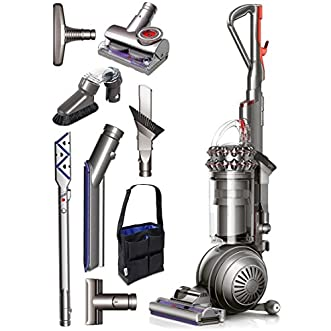 Dyson Cinetic Big Ball Animal Plus Allergy Bagless Upright Vacuum Cleaner + Tangle Free Turbine Tool + Reach Under Tool + Multi-Angle Brush + Mattress Tool + Accessory Tool Bag & More!