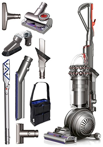 Dyson Cinetic Big Ball Animal Plus Allergy Bagless Upright Vacuum Cleaner + Tangle Free Turbine Tool + Reach Under Tool + Multi-Angle Brush + Mattress Tool + Accessory Tool Bag & More!