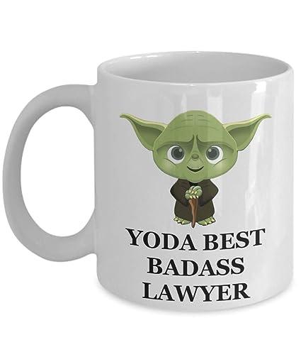 Amazon Yoda Best Lawyer Gift Birthday Christmas Party Pun