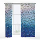 Society6 Periwinkle Dreams Window Curtains Single Panel