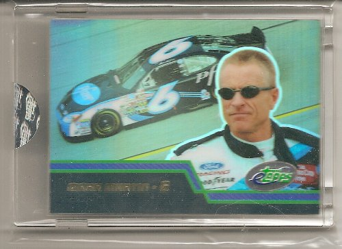 Mark Martin 2003 eTopps NASCAR Uncirculated Card - 3403 Print Run