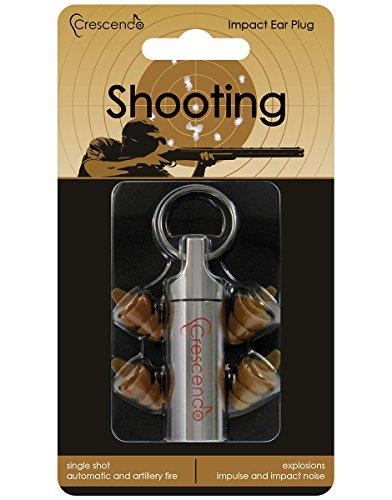 CRESCENDO 耳栓 射撃用 イヤープロテクター Shooting