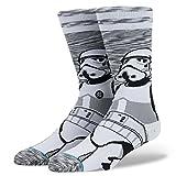 Stance Men's Empire Socks,Medium,Gray