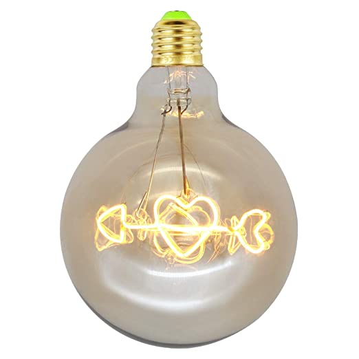E27 Vintage Edison Bombillas de luz LED 4W regulable Amor ...