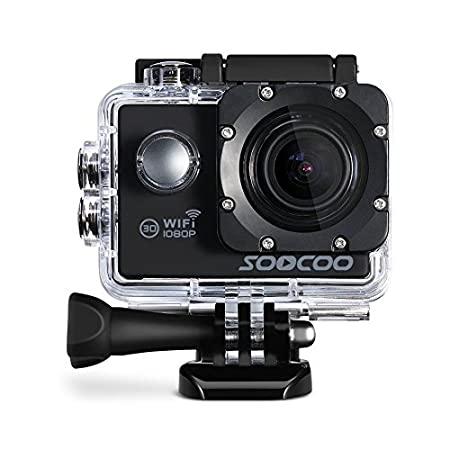HITSAN INCORPORATION SOOCOO C10S Waterproof Sports Action Camera with WiFi Full Hd 1080p 12MP 2.0 LCD 170 Degree Wide Len