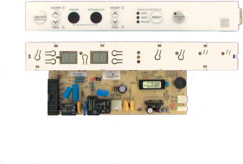 Renewed WP8201661 CoreCentric Refrigeration Control Board replacement for Whirlpool 8201661