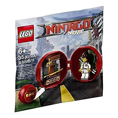 LEGO 5004916 The LEGO Ninjago Movie Kai's Dojo Pod: Toys & Games