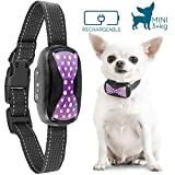 GoodBoy Small Rechargeable Dog Bark Collar Tiny to Medium Dogs Waterproof Vibrating Anti Bark Training Device That is Smallest Most Safe On Amazon - No Shock No Spiky Prongs! (3+ kg)