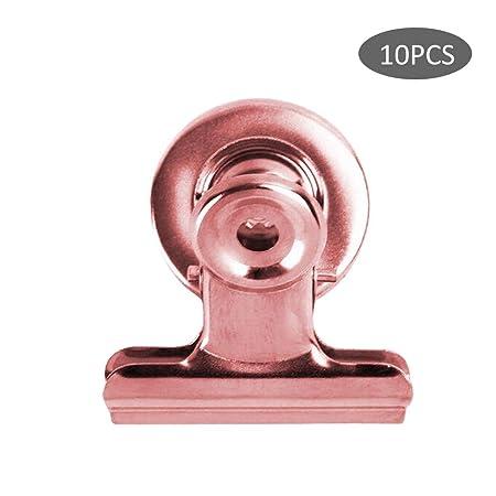 Leap-G - Clips magnéticos para frigorífico y congelador (10 ...