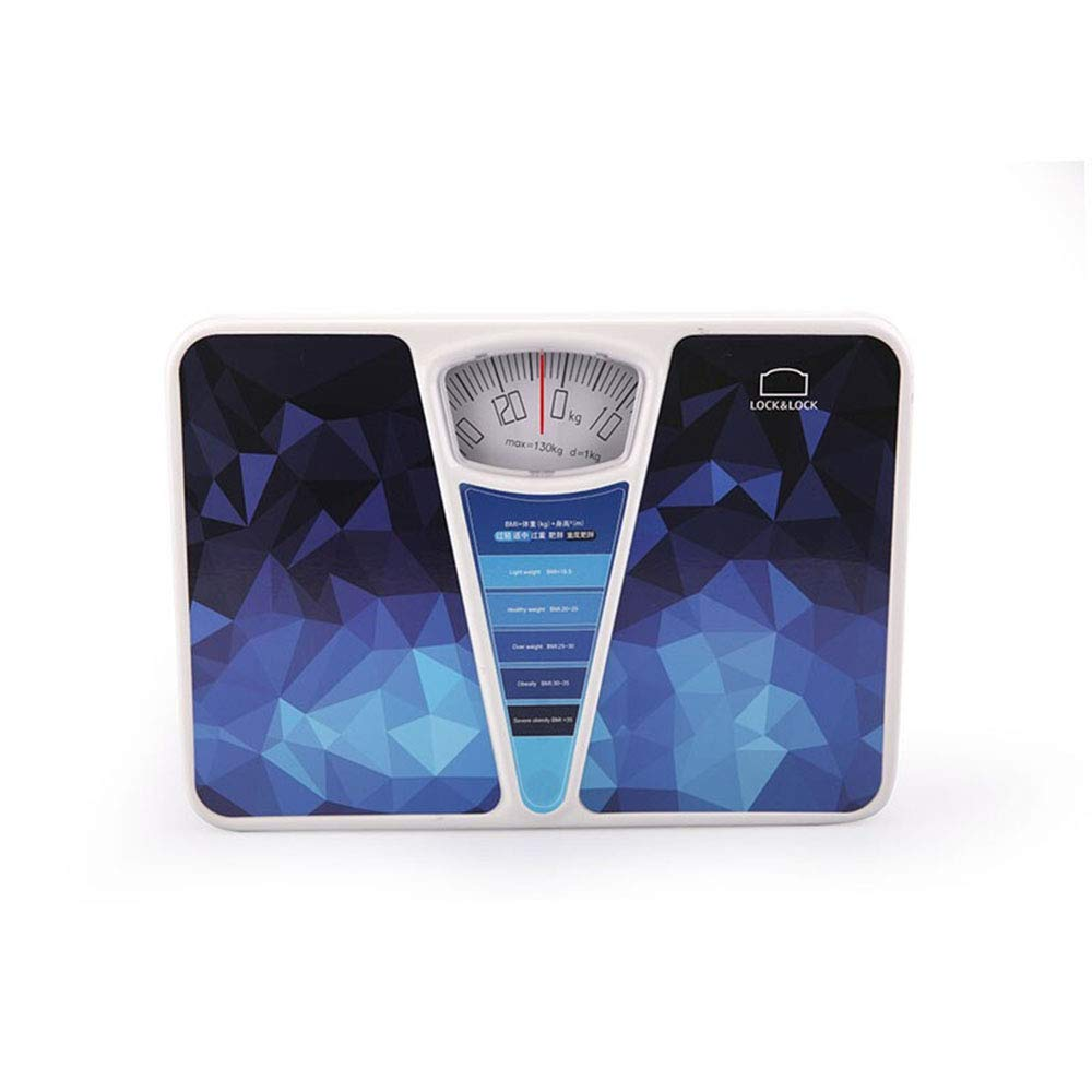 Bathroom Scale, Rotary Dial Weight Mechanical Scale, No Battery/Easy to Read