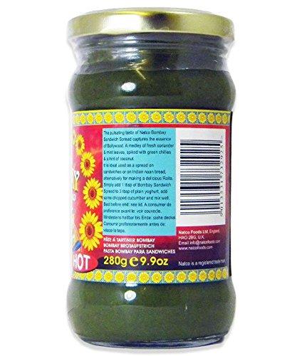 Natco - Bombay Sandwich Spread (hot, 280g)