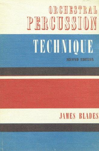 [Orchestral Percussion Technique] (Orchestral Percussion)